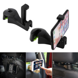 Multi-Functional Car Headrest Hook