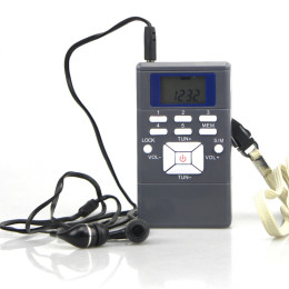 Radio Frequency Digital Radio Receiver