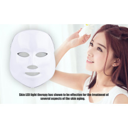 Facial LED Beauty Mask Wrinkle Removal Electric Device PDT Photon Skin Rejuvenating Beauty Machine