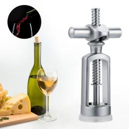 Zinc Alloy Wine Bottle Opener Household Corkscrew