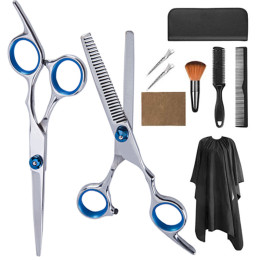 11PCS/Set Haircut Set Home Hairdressing Haircut Scissor