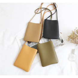 pu leather Soft phone bag