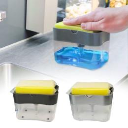 Kitchen Cleaning Brush Double Sponge Box