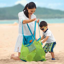 Beach Bag Durable Holding Toys Balls Beach Mesh Tote Bag