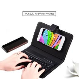 Universal Mobile Keyboard Leather Wireless Keyboard Protective Case