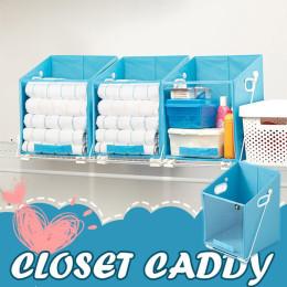 Closet Caddy Foldable Storage Closet Bag Big Organizer Box
