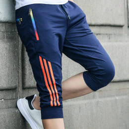Summer Casual Shorts Men Striped Me