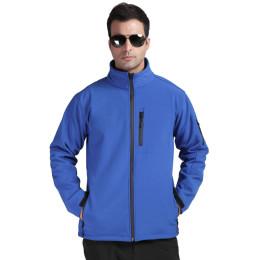 Men's  composite fleece outdoor hiking and leisure sports jacket