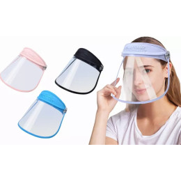 Protective Visor Face Shield Anti Droplet Dust-proof Full Face Cover