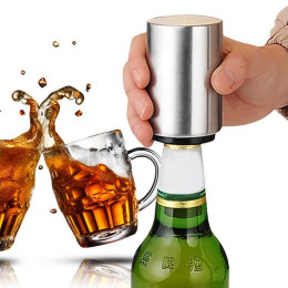 Automatic Stainless Steel Beer Bottle Opener