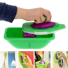 Decorative Paint Roller and Tray Set Paint Pad Pro Painting Roller Brush