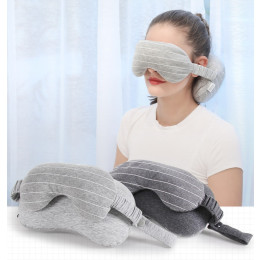 Travel Eye mask And Neck Pillow set