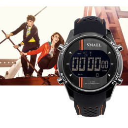SMAEL LED Digital Watches Man Sports Men's Watch