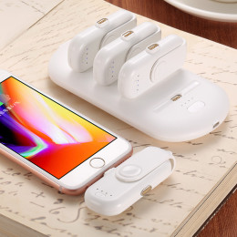 Magnetic absorption capsule ultra-thin charging  power bank