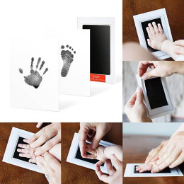 Newborn Baby Handprint or Footprint Clean-Touch Ink Pad
