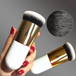 Chubby Pier Foundation Brush Flat Cream Makeup Brushes