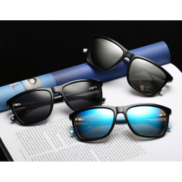 Classic Polarized Sunglasses Driving Square Sun Glasses Male Goggle UV400