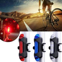 Bike Bicycle light LED Taillight Waterproof Rear Tail Light