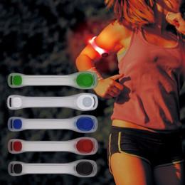 Reflective LED light armband