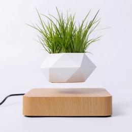 Levitating Air Bonsai Pot Rotation Planters Magnetic Levitation Suspension Flower Floating Pot