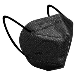 5 Layers KN95 Black Mask Safety Dust Respirator Adult Kn95Mask Protective Face Mouth