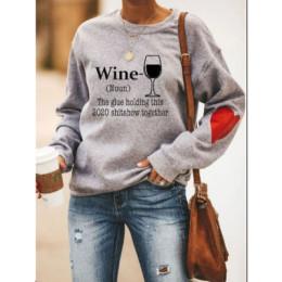 WINE Heart Sweatshirt