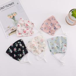 Floral Print Cotton Face Masks