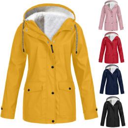 Women's Fleece-Lined Raincoat