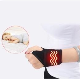 Adjustable Self-Heating Tourmaline Magnet Wrist Support Straps Brace Wraps