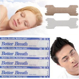 50 pcs breathe nasal strips right way to stop snoring anti snore strips easier better breathe healthcare