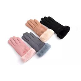 Sherpa-Lined Women's Winter Gloves
