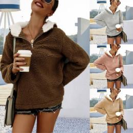 Women's Plush Hooded Sweater