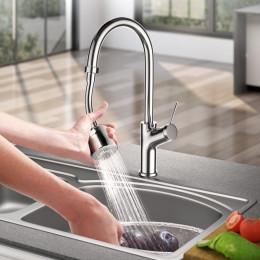 Flexible nozzle for tap
