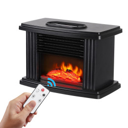 1000w electric hater fireplace with remote control electric flame fireplace decoration portable interior space heater for bedroom