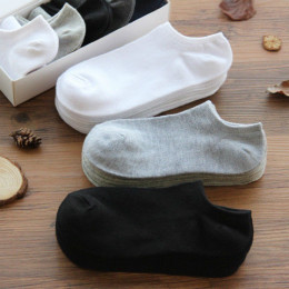 10 Pairs woman Socks Breathable Sports socks Solid Color Boat socks Comfortable Cotton Ankle Socks White Black