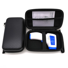 Non-contact tests thermometer storage case portable electronic digital infrared protection thermometer pouch/ bag