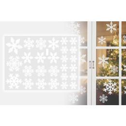 Window decoration snowflakes