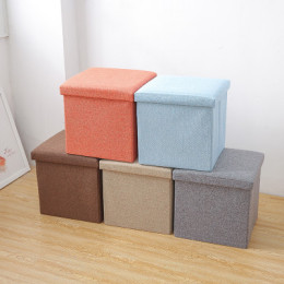 Multifunctional sofa stool low stool door living room wear shoes change shoes stool storage household can sit and fold storage stool