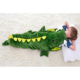 Children's Crocodile Struggle Blanket