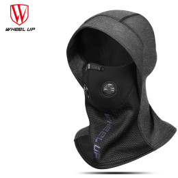 Winter Fleece Warm Cycling Face Mask Breathable Bike Half Face Mask Windproof Bicycle Scarf Dust-proof Replaceable Filter Mask