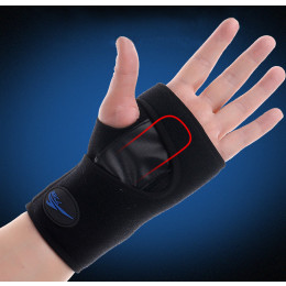 Sports Wrist Brace Protective Wrist Palm Splint Support Guard with Steel Board for Carpal Tunnel Tendonitis Pain Sprain -Unisex