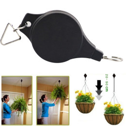 Retractable Basket Hanging Pull Down Hanger