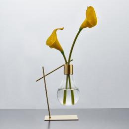 Glass Crystal Vase Centerpiece Home Living Room Decoration Accessories Bedroom Desk Wedding Hydroponic Vase Centerpiece Mod