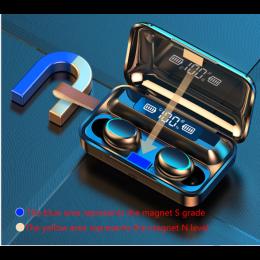 F9-5 True Wireless Bluetooth Earbuds TWS Touch 5.0 Sports Bluetooth Headset