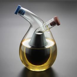 Two-in-One Oil Dispenser Design Vinegar Cruet Olive can Oil Dispenser Bottle