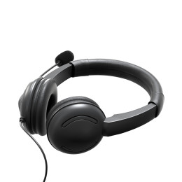 USB Wired Headset/ 3.5mm Computer Headset with Microphone In-line Control Headphone For Call Center Skype PC Cellphone