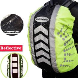 Rain Cover Backpack Reflective Waterproof Dustproof Sport Bag Cover Outdoor Travel Hiking Climbing Rucksack Rainproof Cover