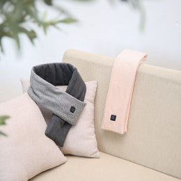 A scarf that will heat up and protect your neck! Graphene heating scarf