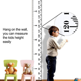 Simple children's height ruler decorative wall painting