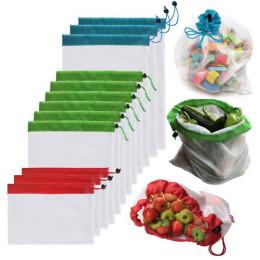 Polyester mesh vegetable and fruit bag Sundries storage mesh bag